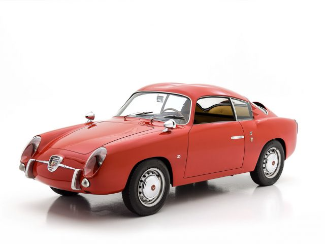 1959 Abarth 750 Zagato Double Bubble For Sale at Hyman LTD