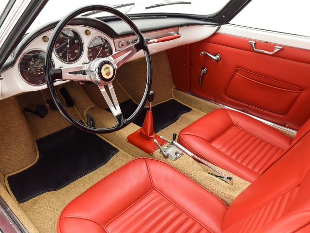 1960 Abarth 850 Allemano Coupe For Sale   Buy Abarth 850 Allemano Coupe Classic Cars   Hyman LTD