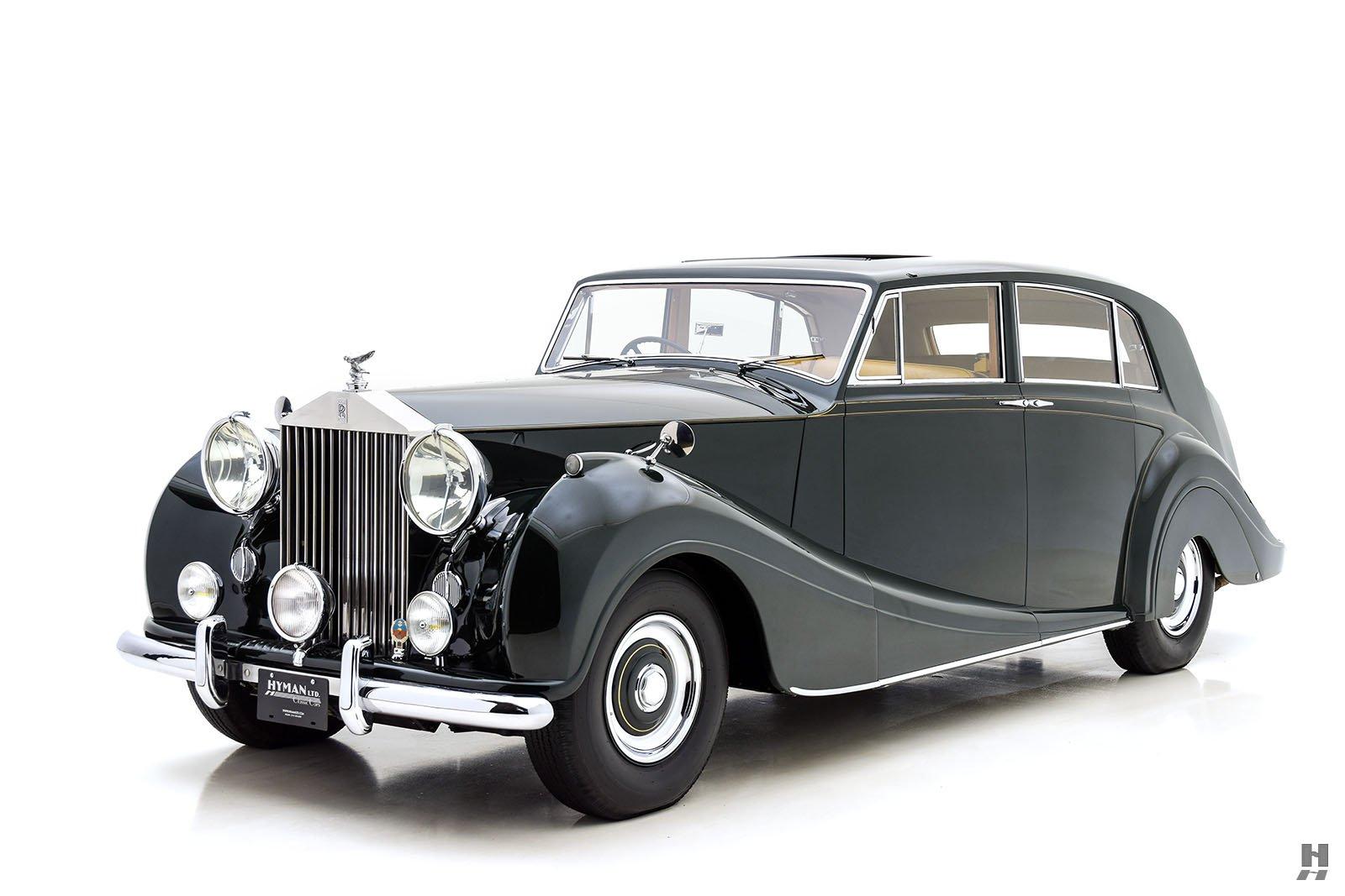 1954 Rolls Royce Silver Wraith By Freestone Amp Webb For