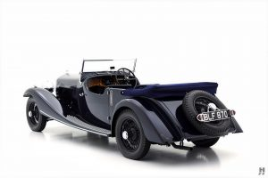 1934 Bentley 3 1/2 Litre Tourer by Vanden Plas For Sale | Hyman LTD