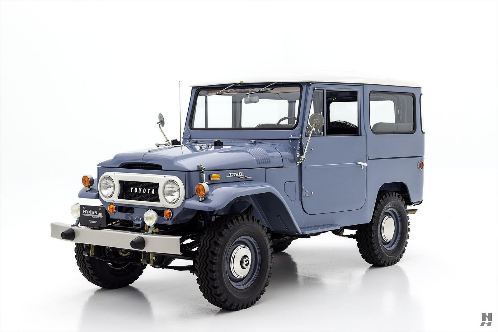 1968 toyota fj40 land cruiser for sale classic cars hyman ltd. Black Bedroom Furniture Sets. Home Design Ideas