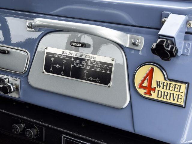 1968 Toyota FJ40 Land Cruiser For Sale