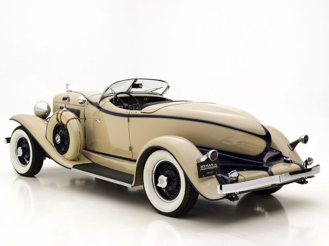 1931 Auburn 8-98 Speedster For Sale at Hyman LTD