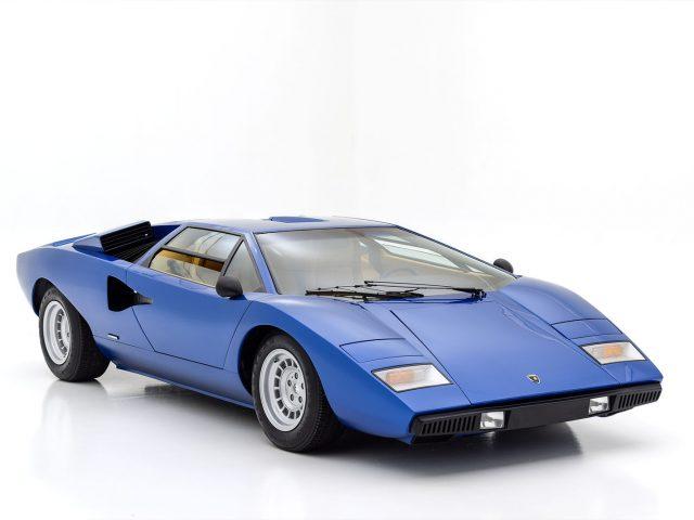 1975 Lamborghini Countach LP400 For Sale at Hyman LTD