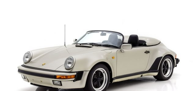 1989 Porsche 911 Speedster For Sale at Hyman LTD
