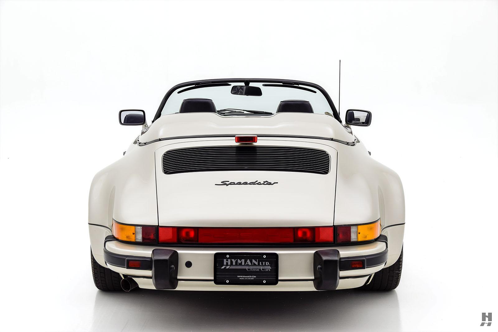 1989 Porsche 911 Speedster For Sale Buy Classic Cars