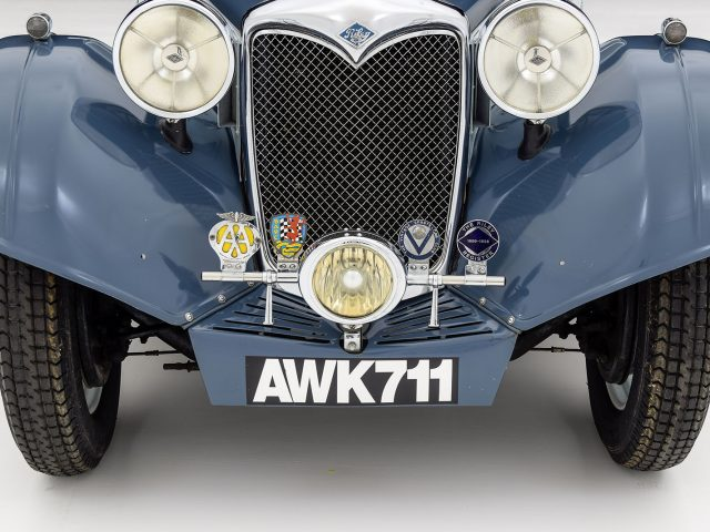 1935 Riley Kestrel Saloon For Sale at Hyman LTD