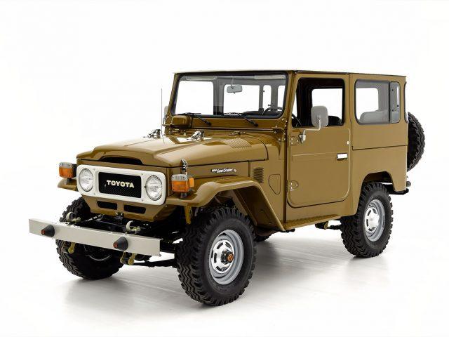 1981 Toyota FJ40 For Sale at Hyman LTD