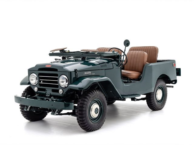 1957 Toyota FJ25 Land Cruiser For Sale at Hyman LTD