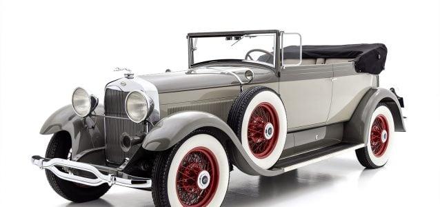 1929 Lincoln Model L Convertible Victoria For Sale at Hyman LTD