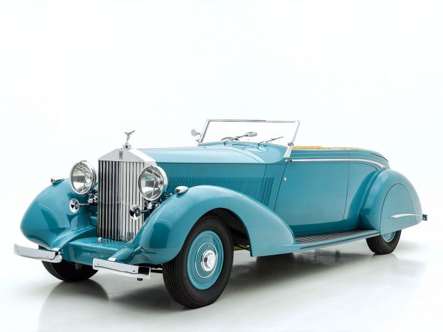 1937 Rolls-Royce Phantom III Drop Head Coupe For Sale at Hyman LTD