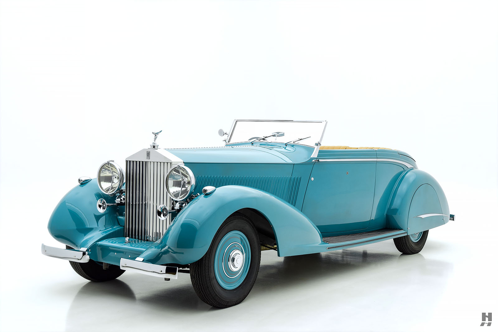 1937 Rolls-Royce Phantom III Drop Head Coupe For Sale at Hyman LTD