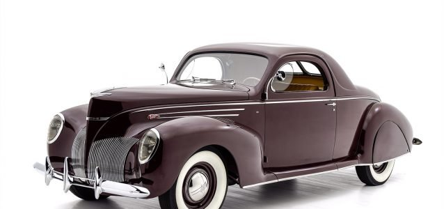 1939 Lincoln Zephyr Coupe For Sale at Hyman LTD