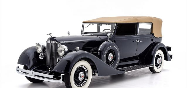 1934 Packard Eight Convertible Sedan For Sale at Hyman LTD