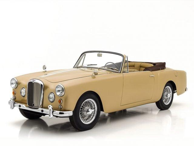 1962 Alvis TD21 Drophead Coupe For sale at Hyman LTD