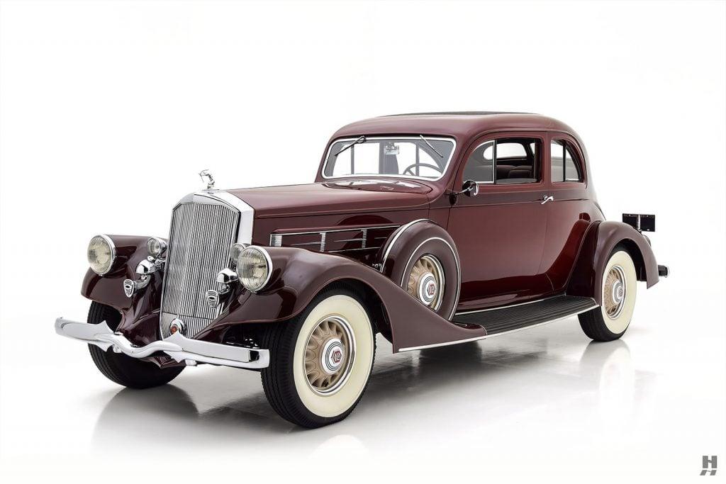 1935 Pierce Arrow Model 1245 Silver Arrow Coupe For Sale at Hyman LTD