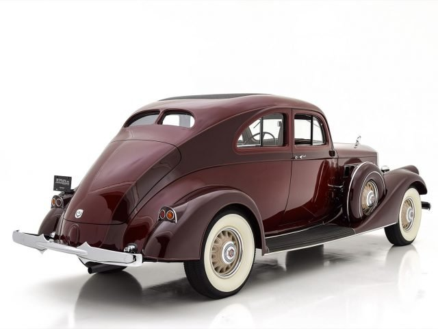 1935 Pierce Arrow Model 1245 Silver Arrow Coupe For Sale at Hyman LTD