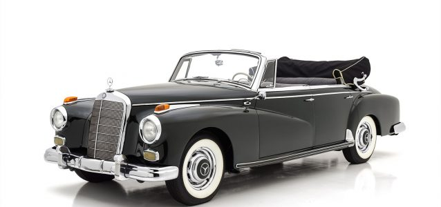 1959 Mercedes-Benz 300d Cabriolet D For Sale at Hyman TD