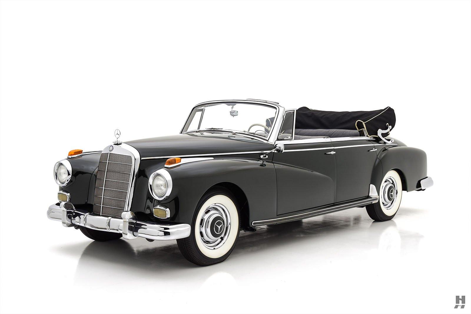 1959 Mercedes-Benz 300d Cabriolet D For Sale at Hyman TD