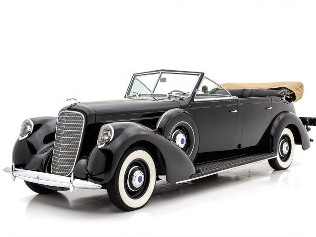 1937 Lincoln K Seven-Passenger Touring For Sale at Hyman LTD