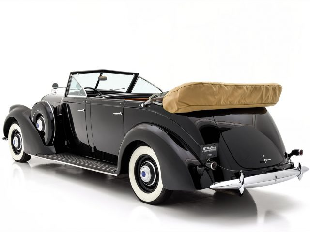 1937 Lincoln K Seven-Passenger Touring For Sale at Hyman LTD