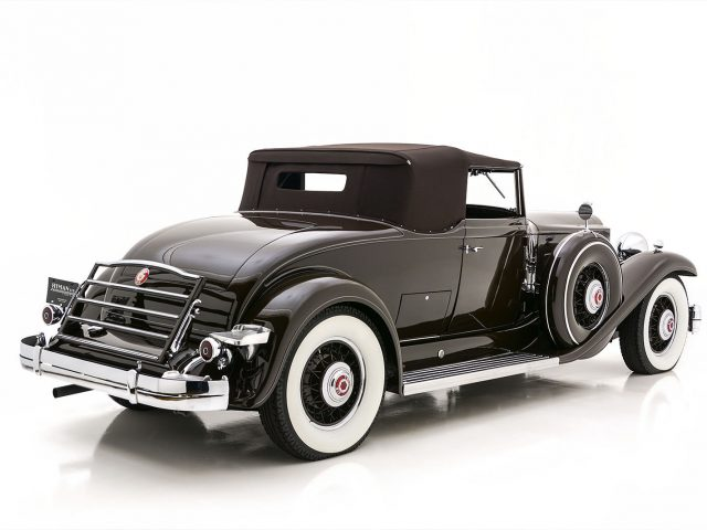 1932 Packard Twin Six Coupe Roadster For Sale at Hyman LTD
