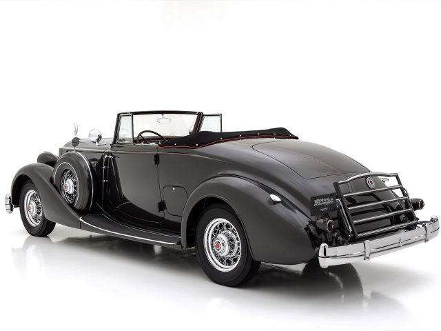 1936 Packard Super Eight Coupe Roadster For Sale at Hyman LTD