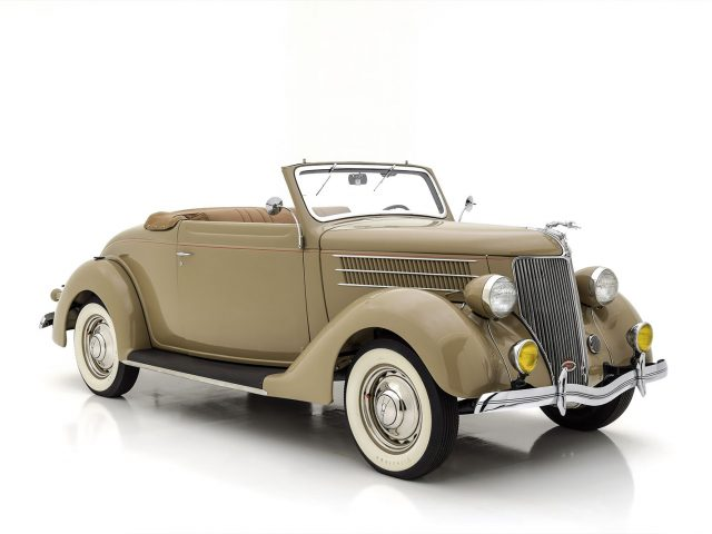 1936 Ford Deluxe Cabriolet For Sale at Hyman LTD