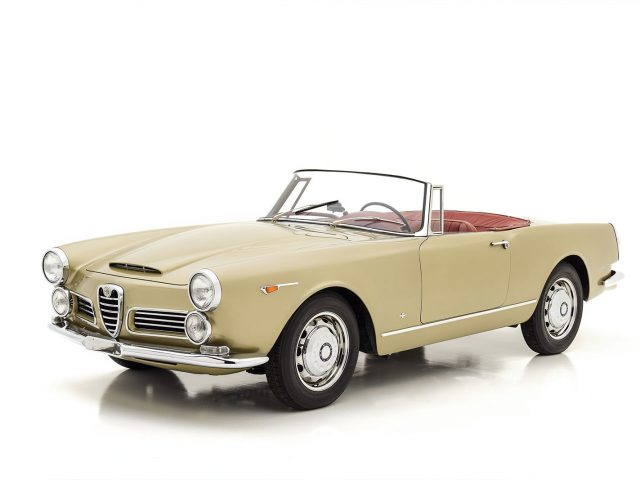 1965 Alfa Romeo 2600 Touring Spider For Sale at Hyman LTD