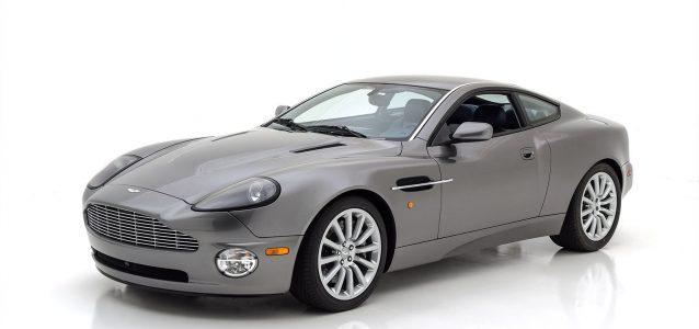 2002 Aston Martin Vanquish 6 Speed Manual For Sale Hyman Ltd