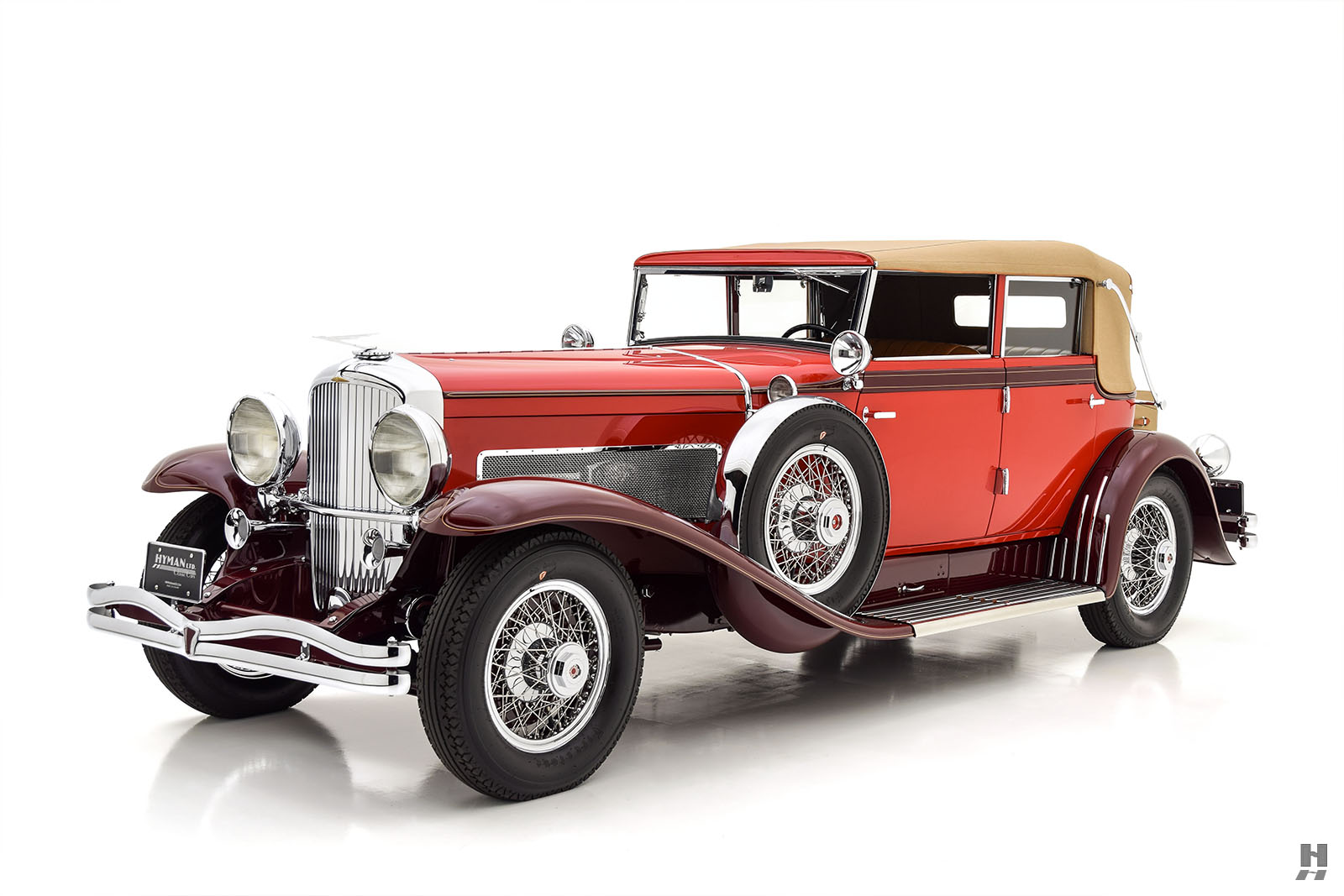 1931 Duesenberg J Convertible Phaeton For Sale at Hyman LTD