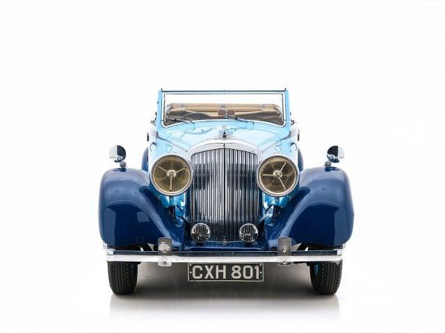 1934 Bentley 3.5 Litre Park Ward Drophead Coupe For Sale at Hyman LTD