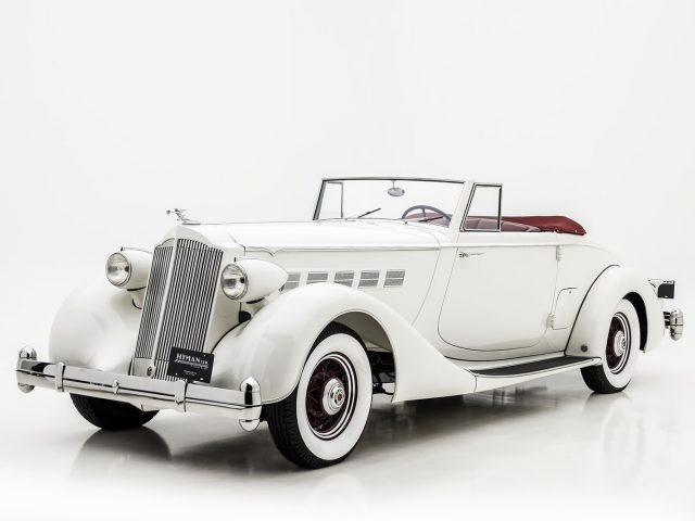1936 Packard Super Eight Coupe RoadsterFor Sale at Hyman LTD