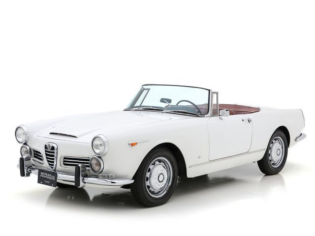 1965 Alfa Romeo 2600 Spider For Sale at Hyman LTD