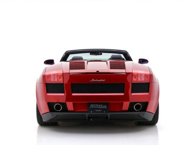 2007 Lamborghini Gallardo Spyder For Sale at Hyman LTD