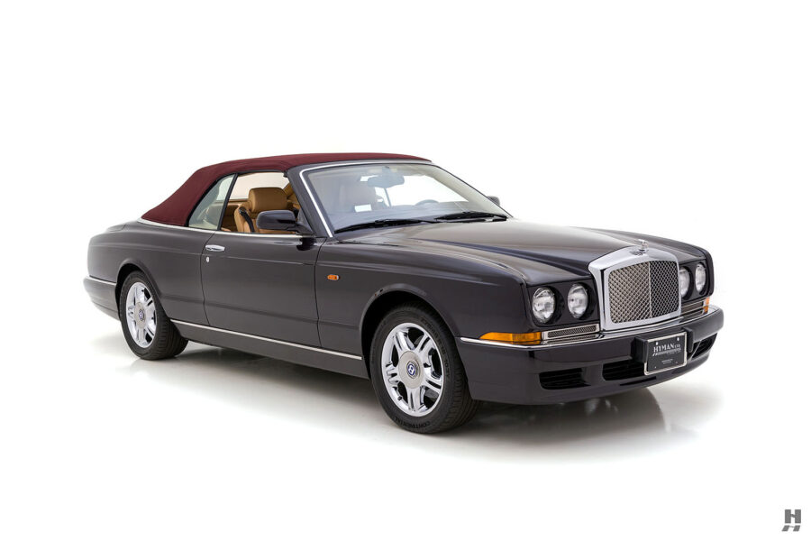 Angled Left Side View of Classic 2001 Bentley Azure Convertible Available Online at Hyman Dealers in St. Louis
