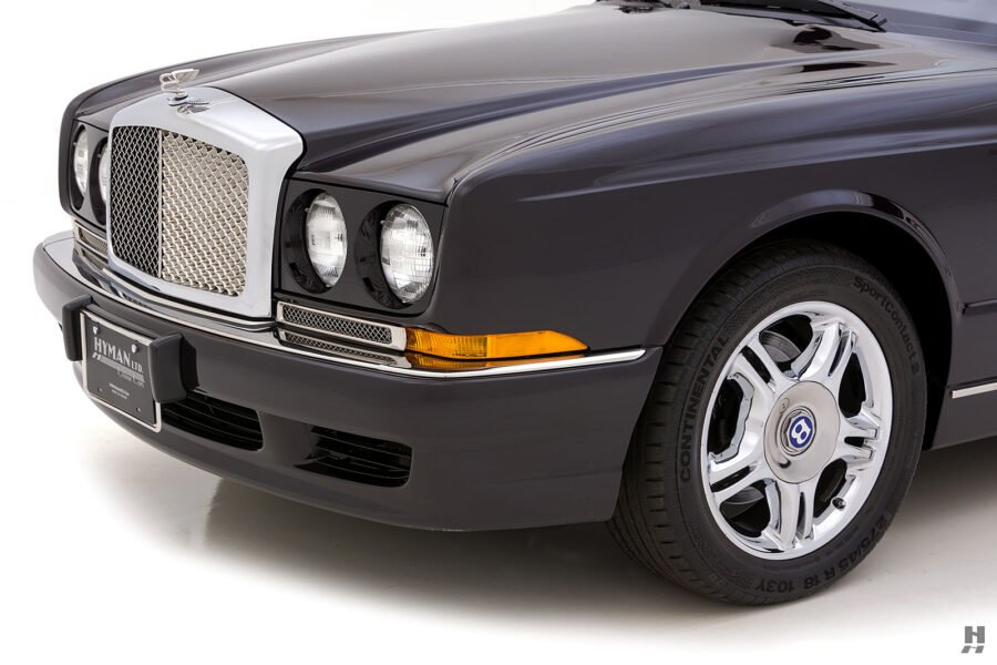 Angled Front Photo of Classic Bentley Car For Sale Online at Hyman Automobile Dealers