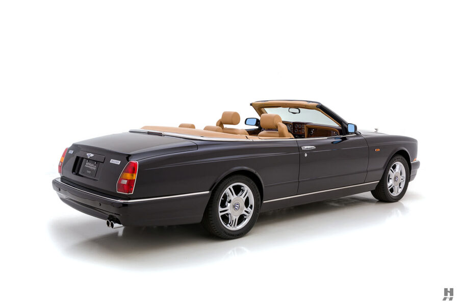 Angled Right Side View of Back of Vintage 2001 Bentley Azure Car - Find More Classic Cars at Hyman