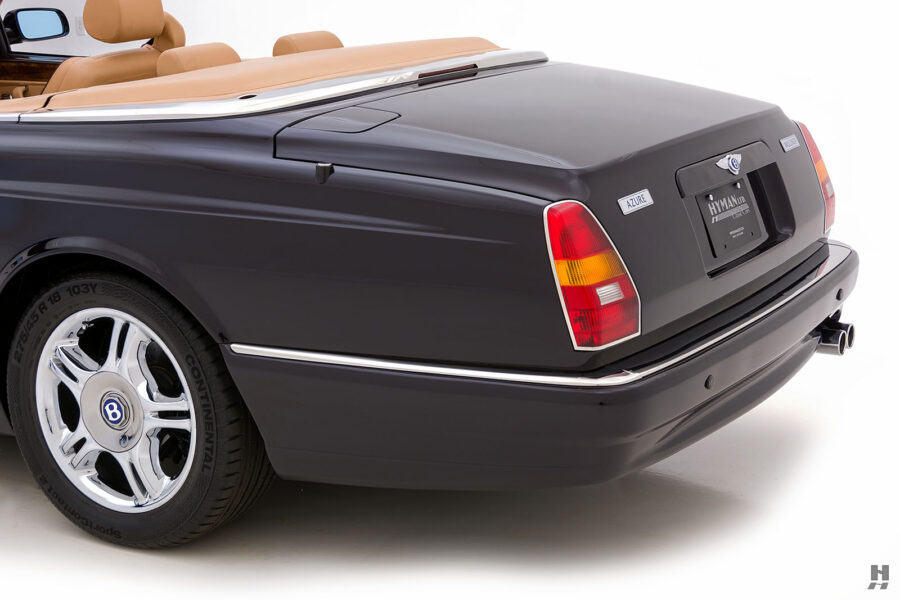 Angled Right Side Photo of Classic 2001 Bentley Car For Sale at Hyman Automobile Dealers in St. Louis