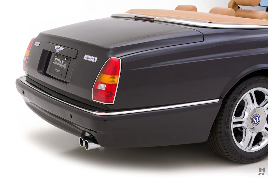 Angled Back Photo of Classic 2001 Bentley Car For Sale - View and Buy More Cars at Hyman