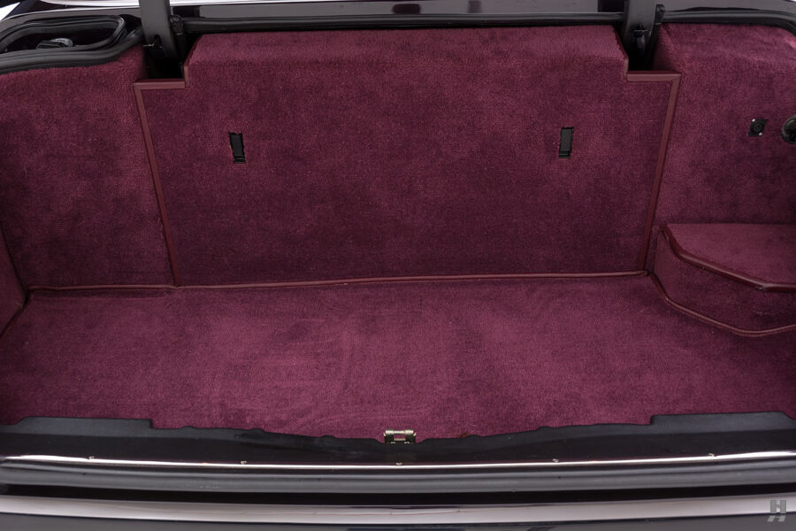 Trunk of Classic 2001 Bentley Car For Sale at Hyman Consignment Dealers in St. Louis