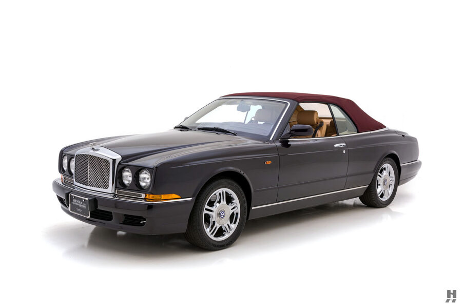 Angled Right Side View of Classic 2001 Bentley Car For Sale at Hyman Automobiles