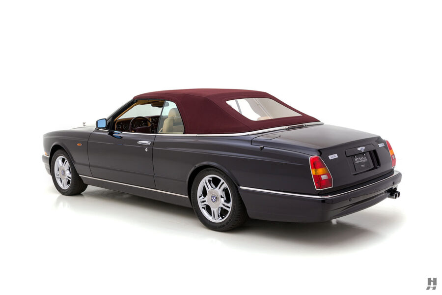 Angled Left Side Rearview of Old 2001 Bentley Car Available For Sale at Hyman Dealers in St. Louis