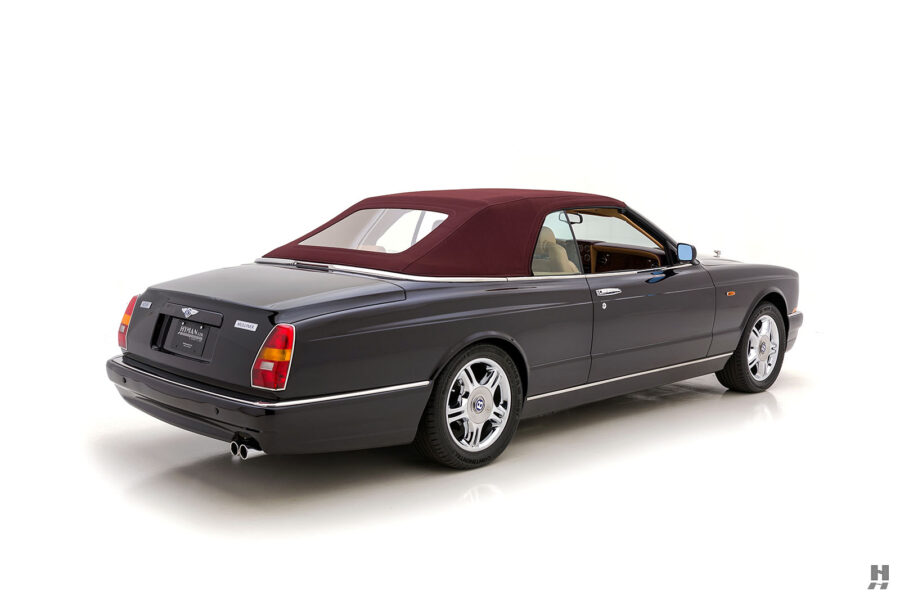 Angled Right Side View of Old 2001 Bentley Car For Sale at Hyman in St. Louis