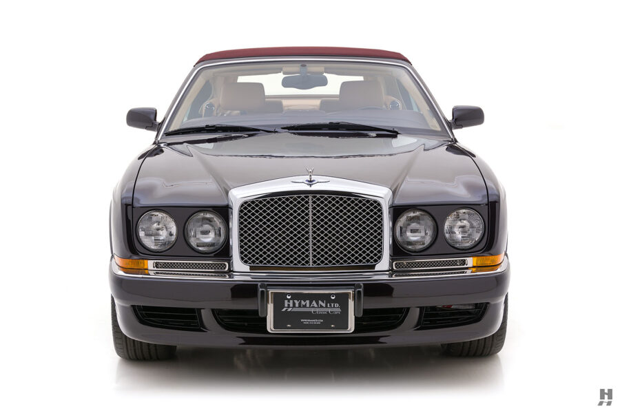 Front of Classic 2001 Bentley With Convertible Top For Sale at Hyman in St. Louis