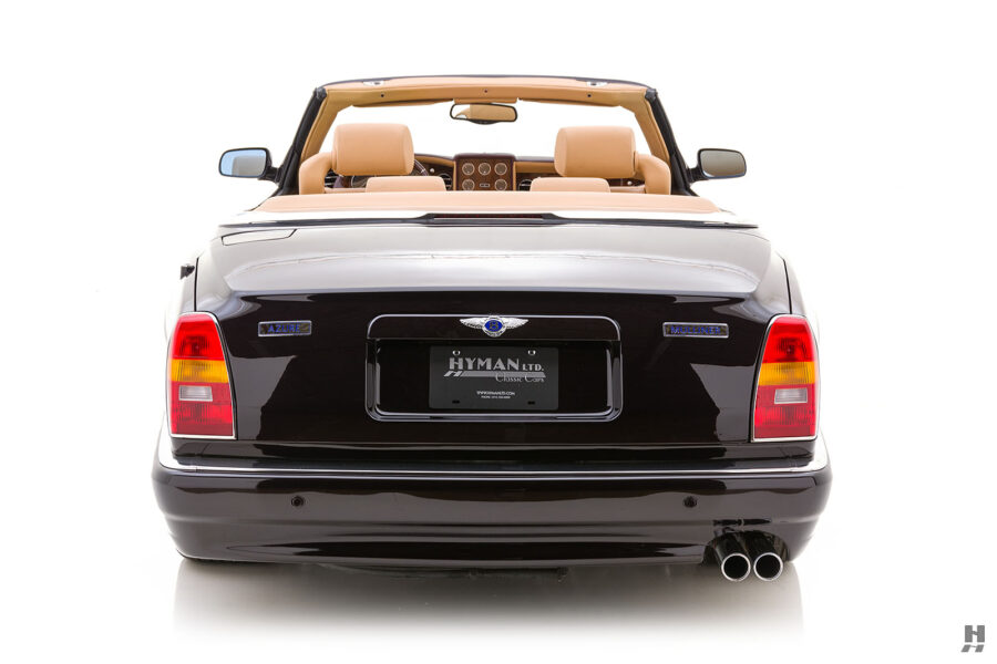Back of Classic Bentley 2001 Car For Sale at Hyman Dealers in St. Louis