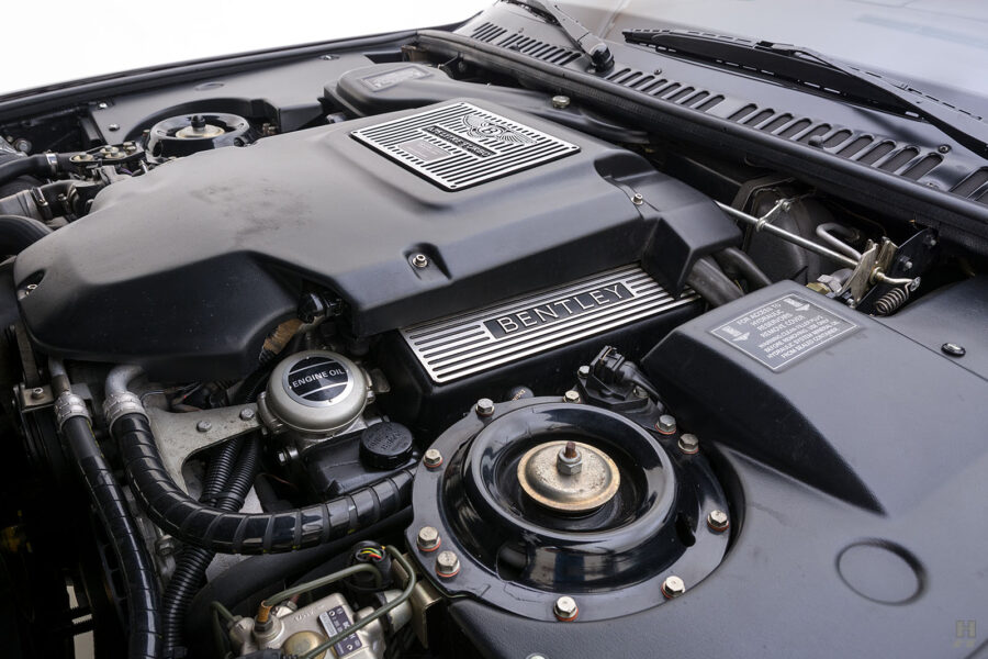Engine on Classic 2001 Bentley Car For Sale at Hyman Dealers Near You