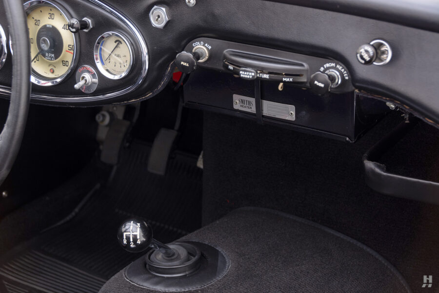 Dashboard View of Classic 1959 Austin Healey For Sale at Hyman Car Dealers in St. Louis