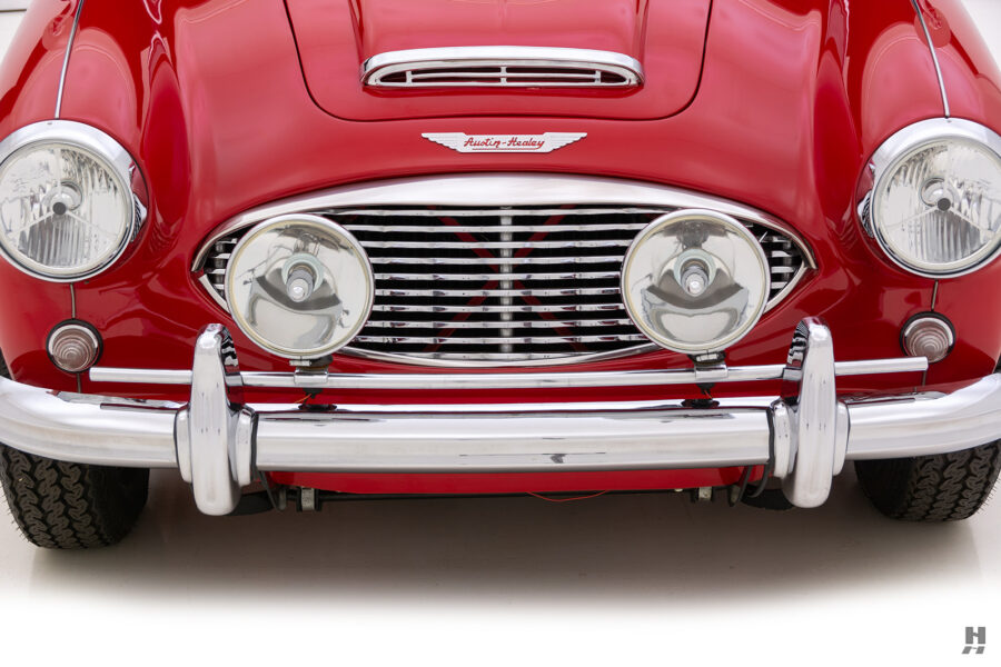 Front of Classic Austin Healey Car For Sale at Hyman Consignment Dealership Online