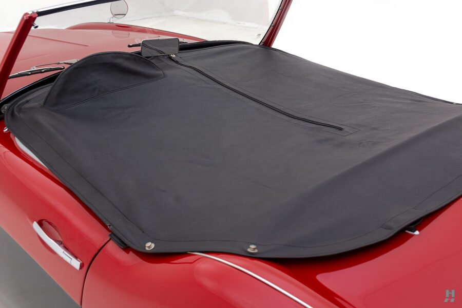 Classic Austin Healey Car Convertible Top - For Sale At Hyman Dealers